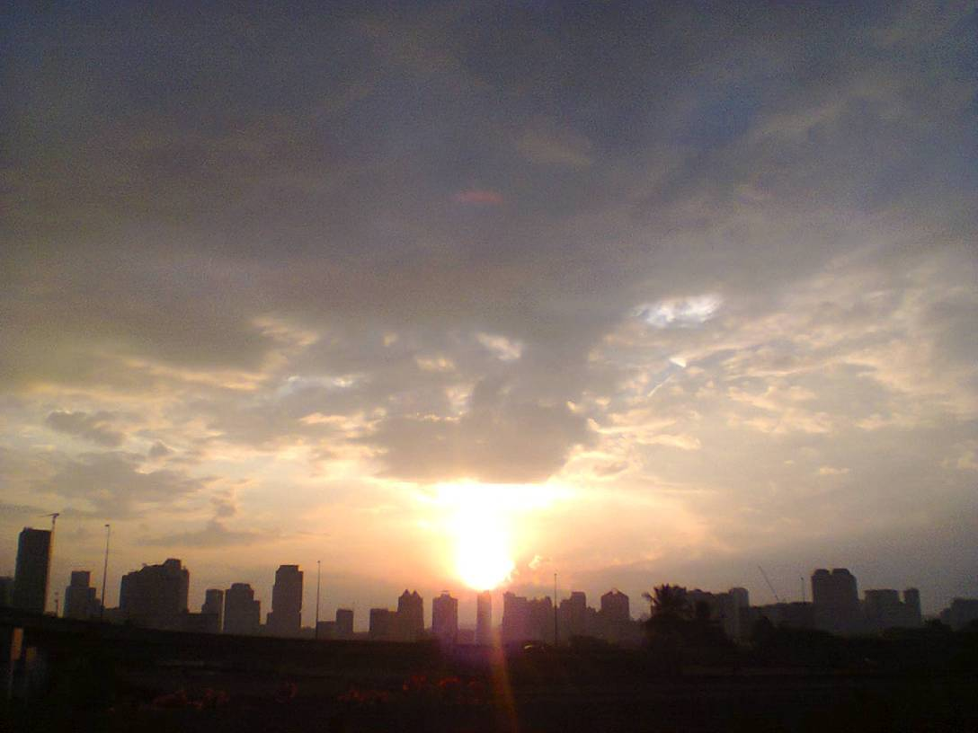 Kuala Lumpur city at dusk