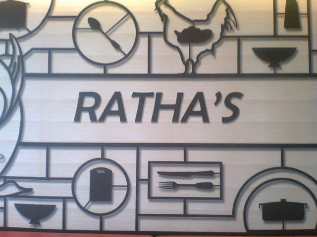 Ratha's Restaurant new logo