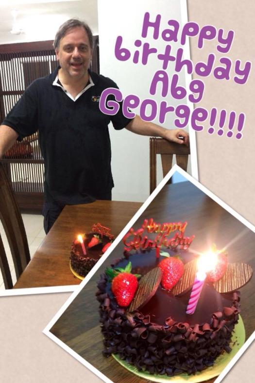 George birthday