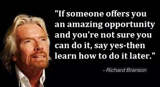opportunity richard branson