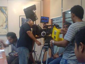 film shooting