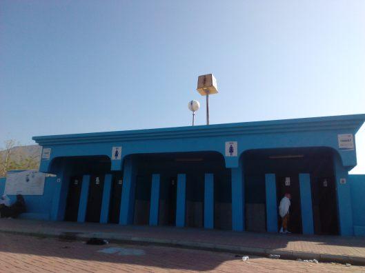 Toilet in Arafah