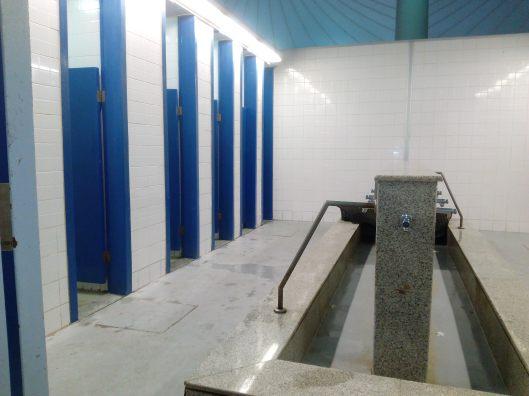 Toilet in Abdul Aziz International Airport (umrah/hajj terminal)